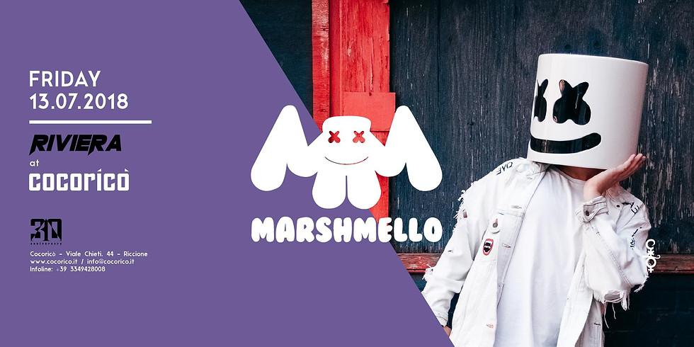 MARSHMELLO COCORICO RICCIONE 13 LUGLIO 2018