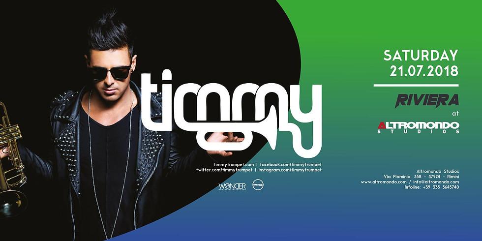 TIMMY TRUMPET ALTROMONDO RIMINI AMS 21 LUGLIO 2018