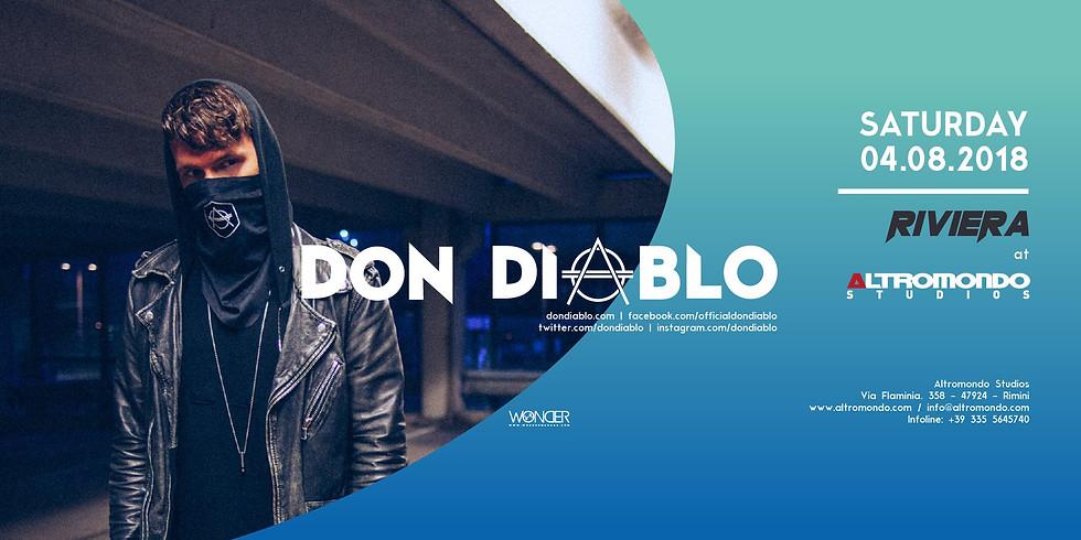 DON DIABLO ALTROMONDO RIMINI AMS 4 AGOSTO 2018