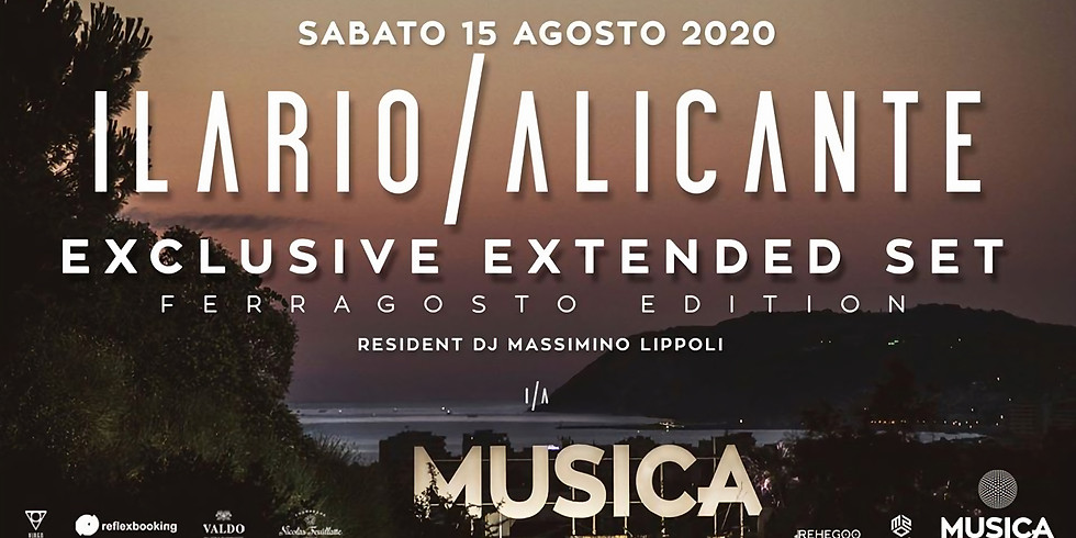 ILARIO ALICANTE MUSICA RICCIONE 15 AGOSTO 2020