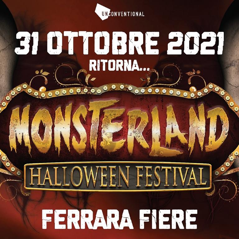 Halloween Monsterland Ferrara 2021 Riviera Discoteche Riccione