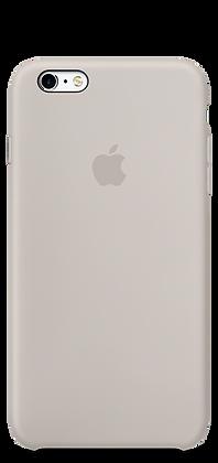 Бежевый силиконовый чехол для iPhone 6/6s
