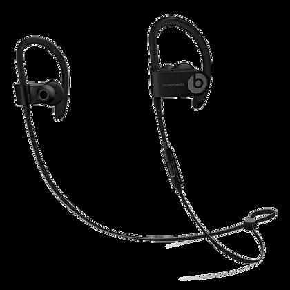 Беспроводные наушники PowerBeats3 чёрного цвета