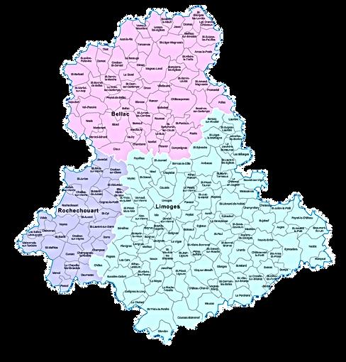 arrondissements-et-communes-Haute-Vienne