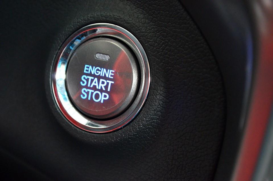 Ignition System Button Push Car Start Keyless