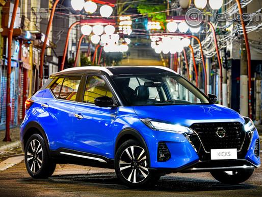 Nissan Kicks ganha seu primeiro face-lift e upgrade de tecnologia