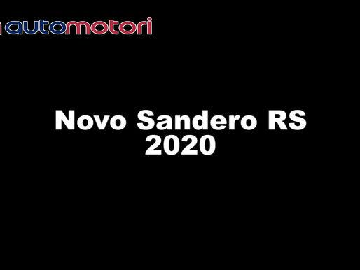 Veja o clipe e confira como ficou o novo Renault Sandero RS 2020!