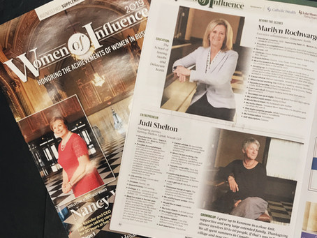 KLSN Founding Partner, Judith Treger Shelton, Receives 2019 Women of Influence Award