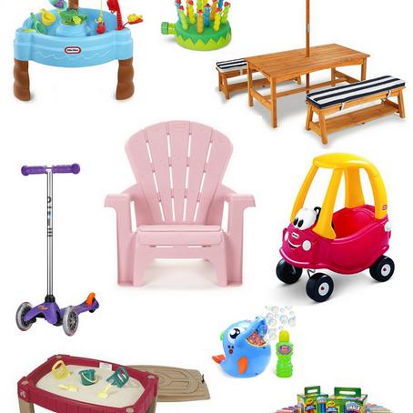Our Favorite Backyard Toys