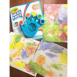 Mess Free Finger Paint