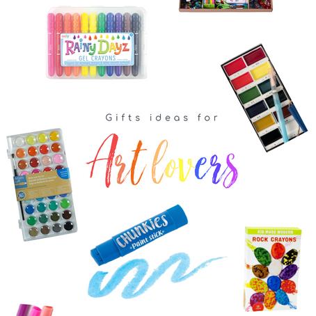 Gift Ideas for Art Lovers