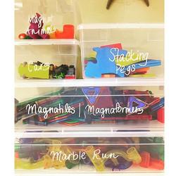 Toy Organization Bins