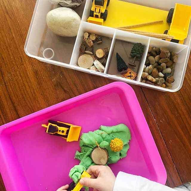 PlayDough Sensory Box