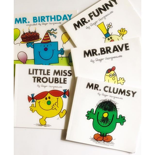Little Mister/Little Miss Books