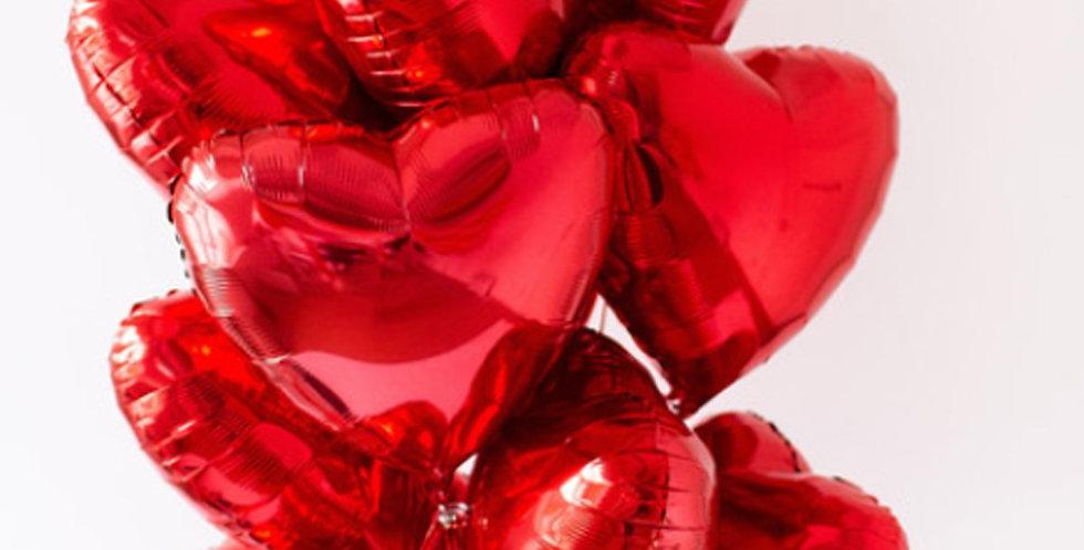 Kalp Helyum Balon