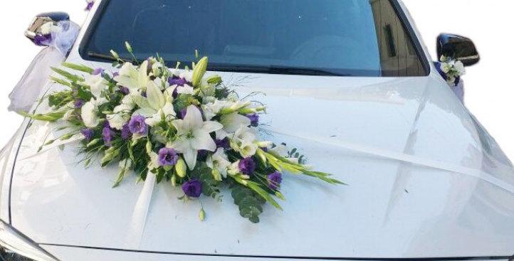 Gelin Arabası Çiçek Süsleme