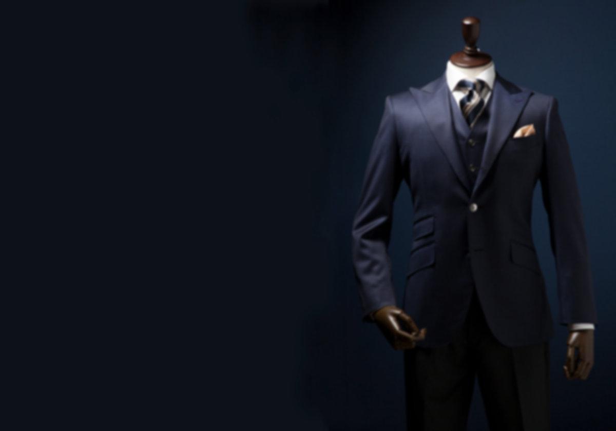 オーダーメイドスーツとシャツTAGARUのオーダースーツイメージ