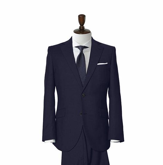 SUIT SUGGESTION ネイビープレーン 2ピーススーツ