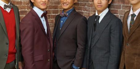 成人式スーツその2先輩たちの参考写真
