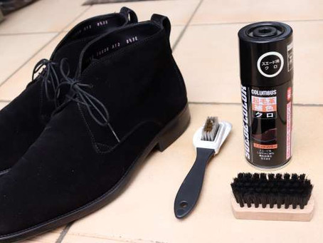 革靴の衣替え