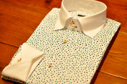 プリントシャツ×クレリック
