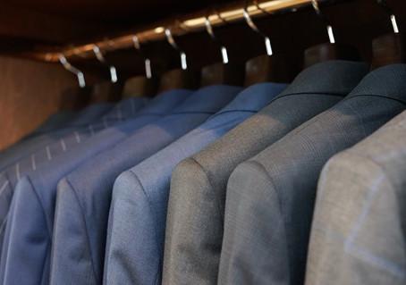 スーツのメンテナンス