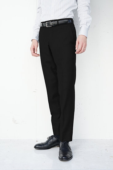 CLISOLD ウールスラックス(黒)