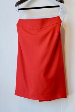 赤スカート