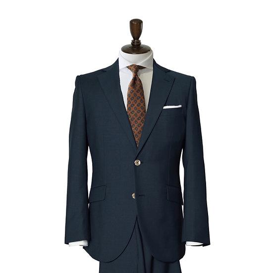 DORMEUIL グリーンプレーン スーツ