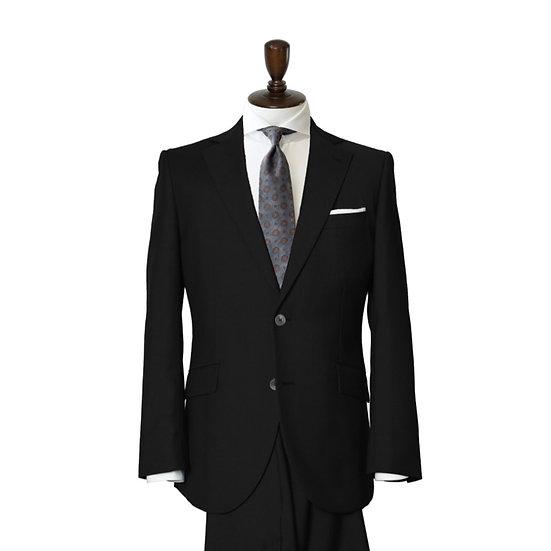 RELIANCE  ブラック プレーン スーツ