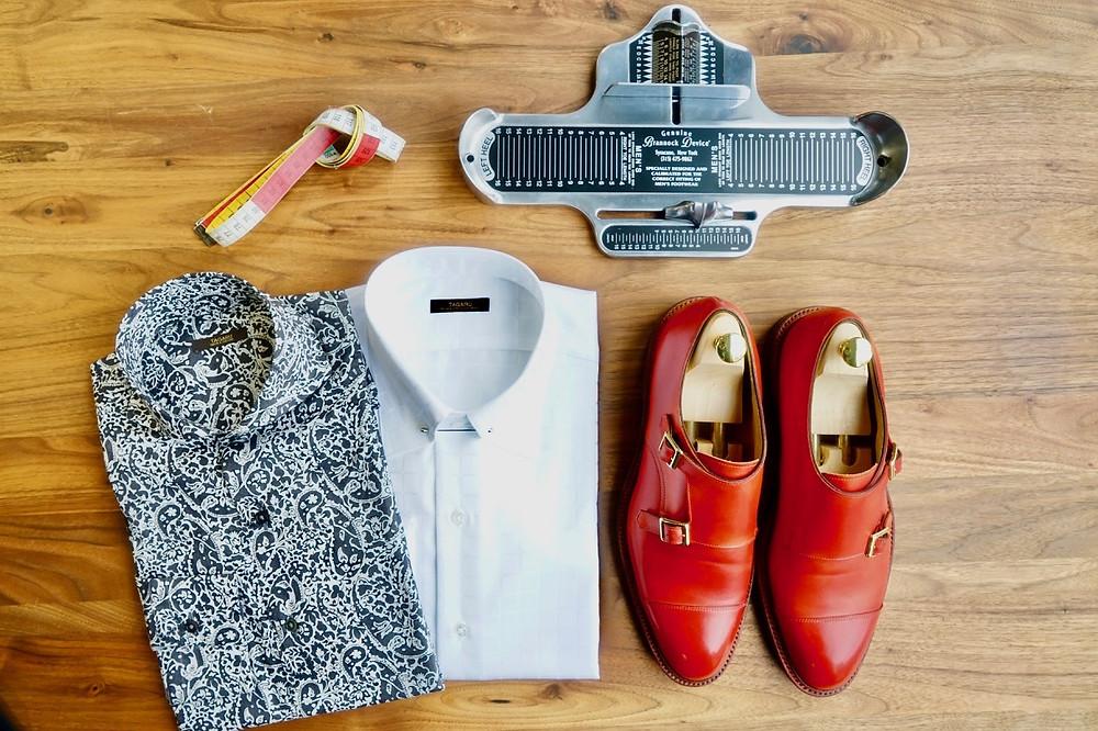 シャツと靴のフェア