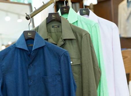 テカらないシャツのアイロンの掛け方