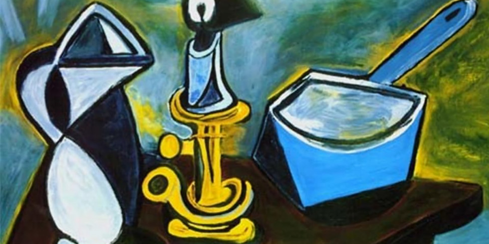 Pablo Picasso - Still Life with Candle