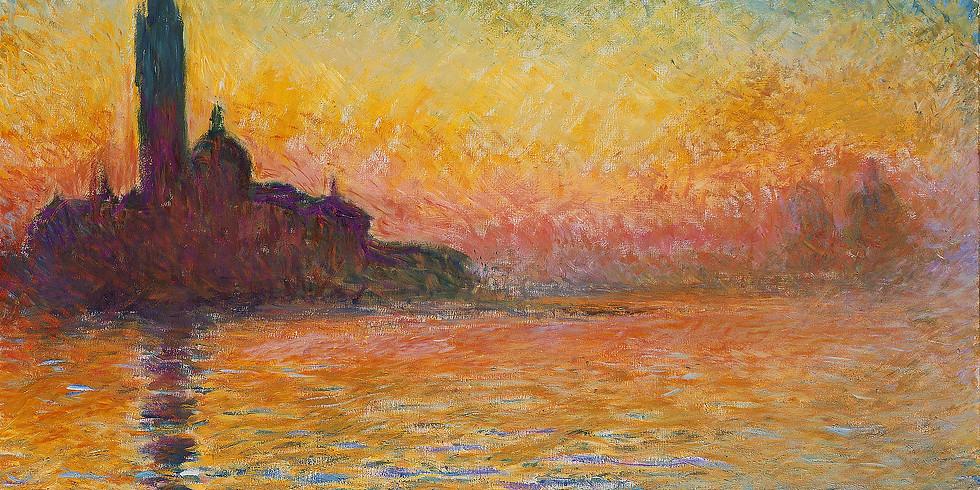 Claude Monet - San Giorgio Maggiore at Dusk