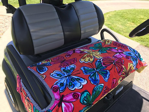 Beautiful Butterflies Terry Cloth Seat Cover