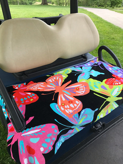 Butterflies Terry Cloth Seat Cover