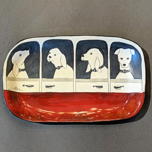 Dog Tray Sally Jaffee