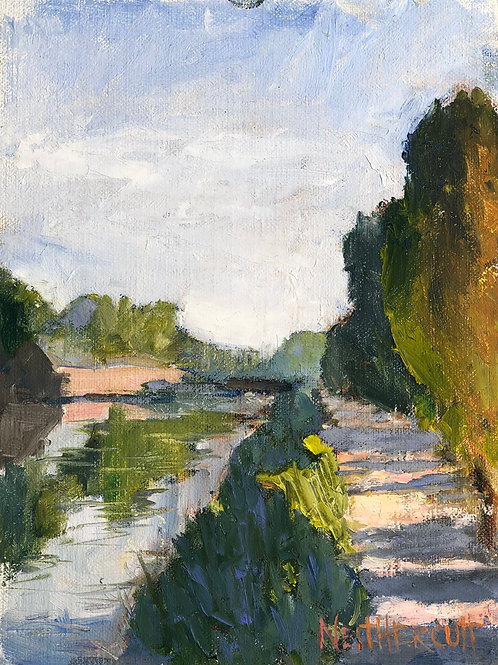 """Walk Along the Canal """