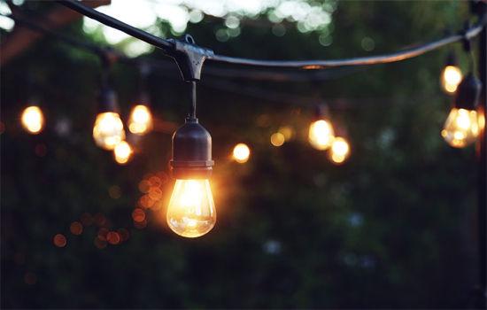 Aslanis Events | String lights mykonos rental