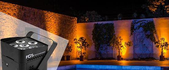 Wedding Lighting rentals Mykonos, Venue Uplighting
