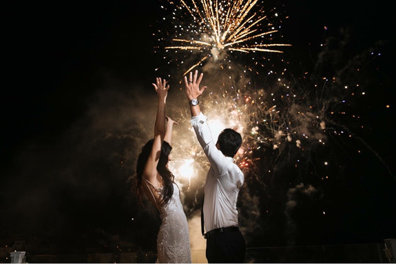 rent fireworks in Mykonos, hire Wedding dj in Mykonos