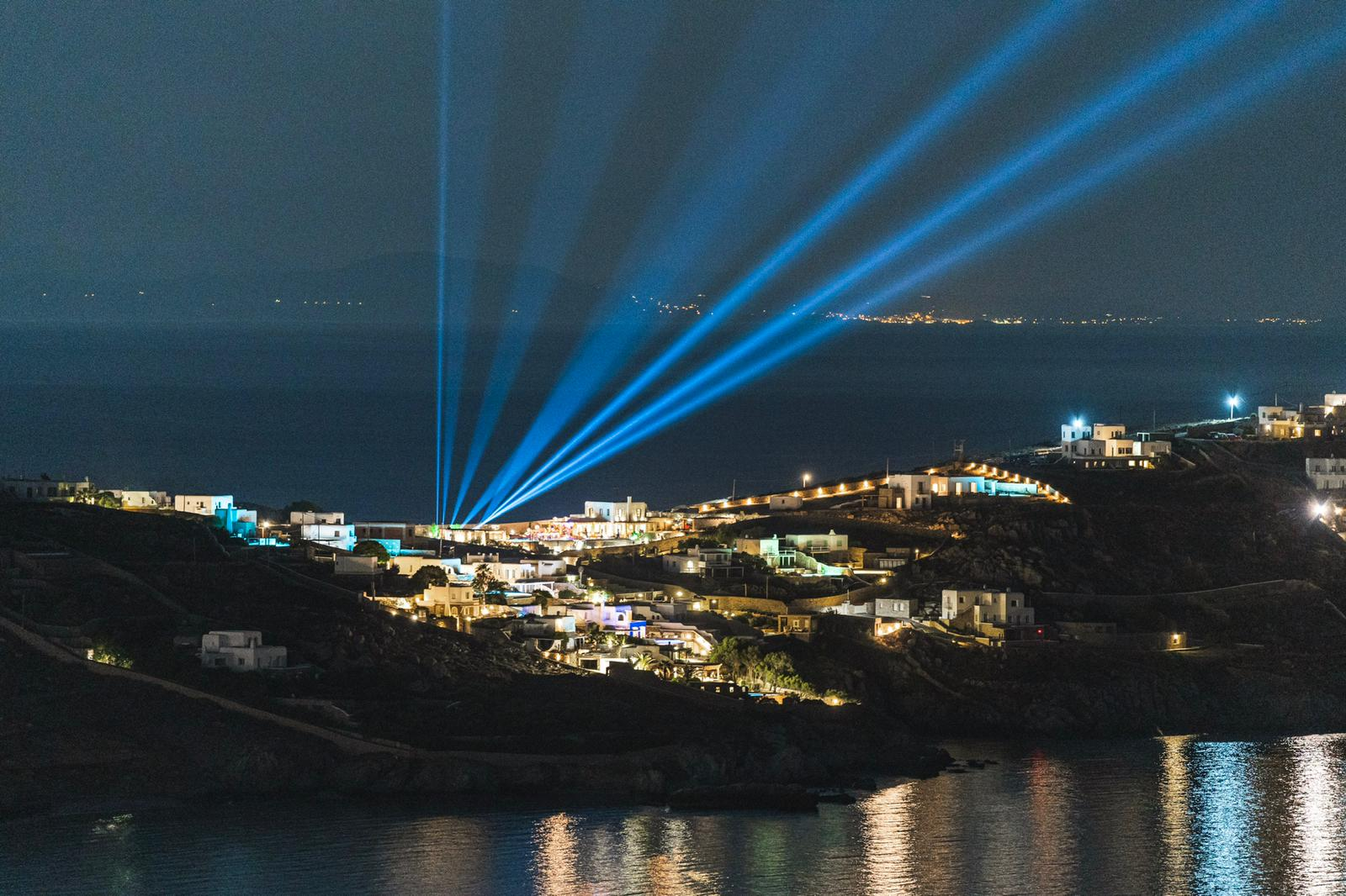 Lighting rental Mykonos, Dj Services
