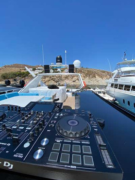 dj services mykonos, dj equipment rental mykonos, sound rental