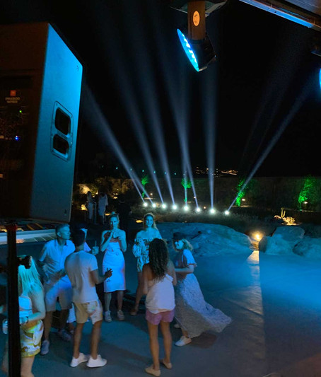 sound rental mykonos, dj equipemt Rental, wedding dj services