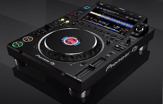 Pioneer-cdj-3000-rental-mykonos, dj-equipment