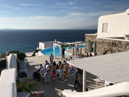 Wedding dj hire in Mykonos, dj services, reception dj mykonos