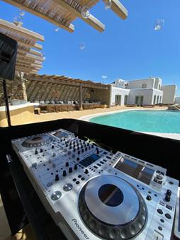 Dj equipment rental in Mykonos, Paros, naxos, Syros