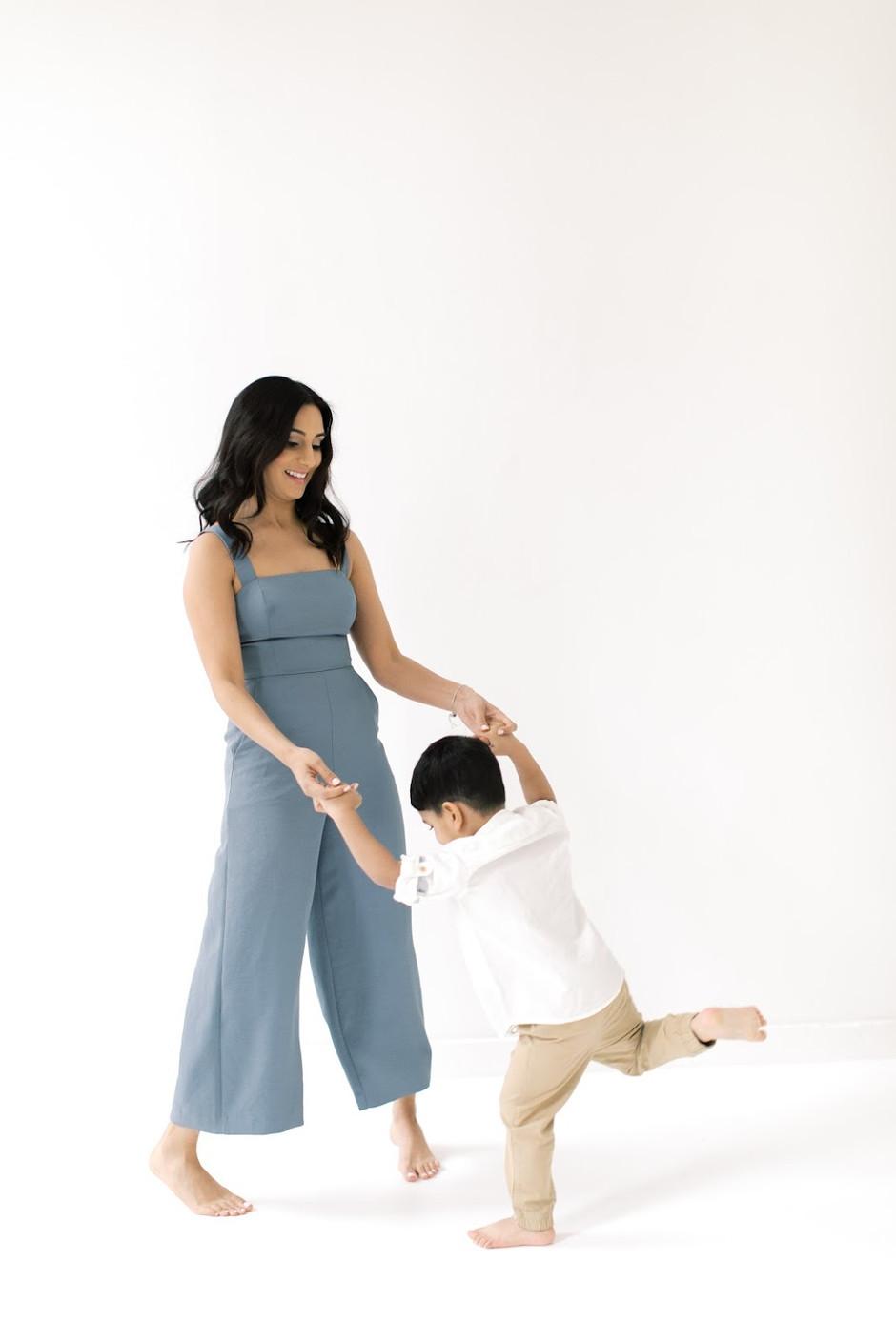 the dance of motherhood.
