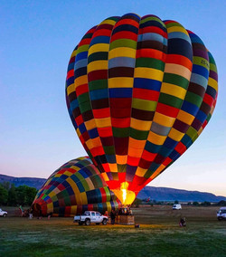 vuelo en globo teotihuacan