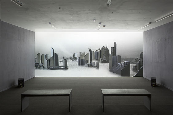 WhiteCity Installation view
